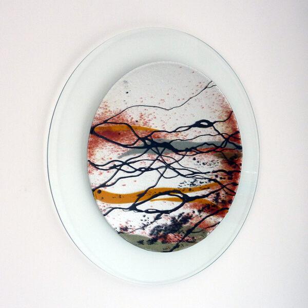 Glass art picture